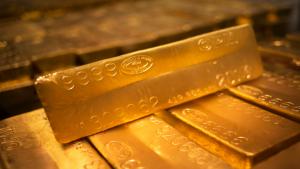 ทองคำเปลี่ยนจีดีพีหลังสหรัฐเป็นบวกขาดการติดตาม